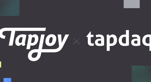 Tapjoy and Tapdaq are Joining Forces to Bring You a Stronger Maximum Impact Platform