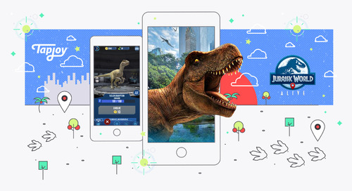 Tapjoy Named Exclusive Advertising Provider for Jurassic World Alive
