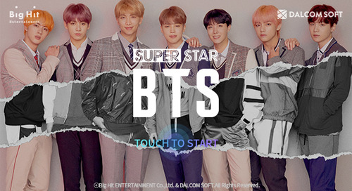 Tapjoy's App Of The Month: SuperStar BTS by Dalcomsoft