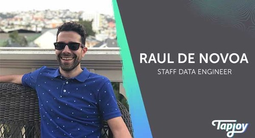 Tap Into Our Team: Raul de Novoa