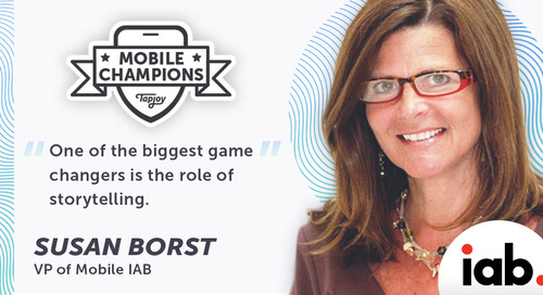 IAB's Susan Borst Is Tackling Major Issues To Help Mobile Advertising Thrive