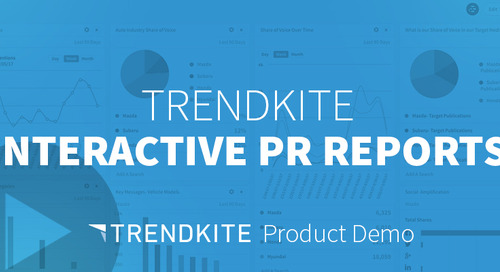 TrendKite PR Reports Video