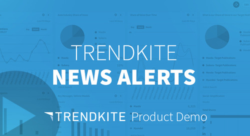 TrendKite News Alerts Video