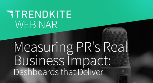 Measuring PR's Real Business Impact: Dashboards that Deliver