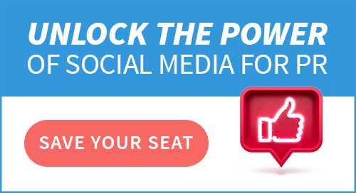 Unlock the Power of Social Media for PR - LIVE Webinar