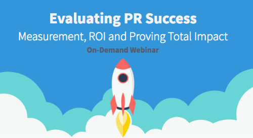 Evaluating PR Success On-Demand Webinar