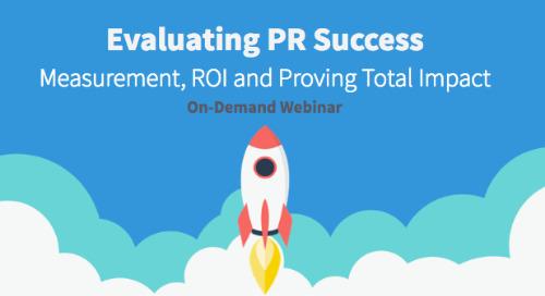 Evaluating PR Success On-Demand Webinar