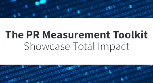 Start measuring the total impact of your PR strategy