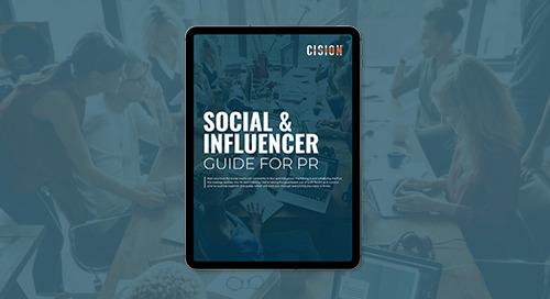 Social and Influencer for PR Guide