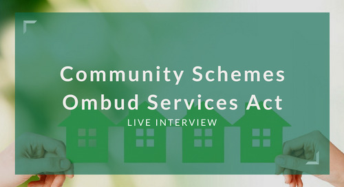 Community Schemes Ombud Services Act [Video]
