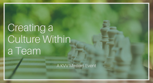 EVENT: Creating a Culture within a TEAM (12 June 2019)