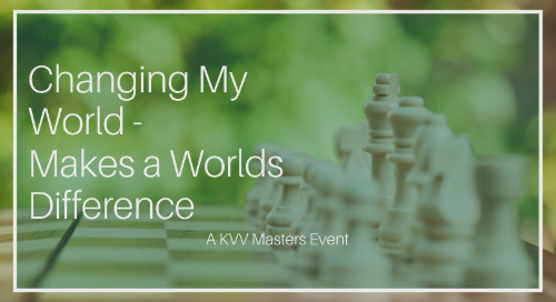 EVENT: Changing My World Makes A Worlds Difference (19 October 2018)