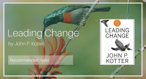 Leading Change [Recommended Read - Diaan van Wyk]