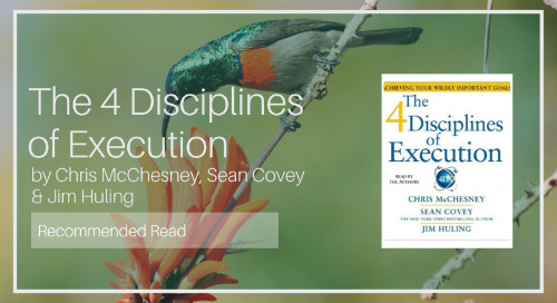 The 4 Disciplines of Execution [Recommended Read - Barry Davies]