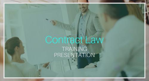 Contract Law Training [Presentation]