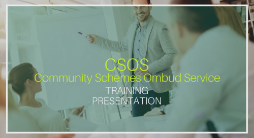 CSOS Training [Presentation]