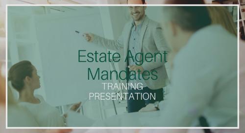 Estate Agent Mandates Training [Presentation]