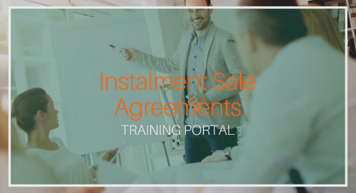 Instalment Sale Agreements [Training]
