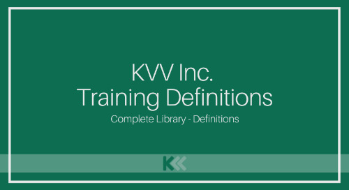 Training Centre Definitions - Complete Library [Videos]