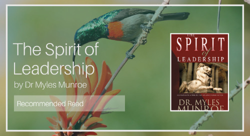 The Spirit of Leadership [Recommended Read]