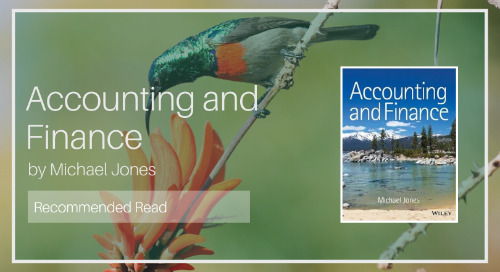 Accounting and Finance [Recommended Read - Diaan van Wyk]