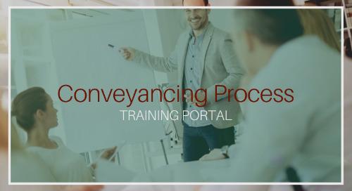 Conveyancing Process [Training]