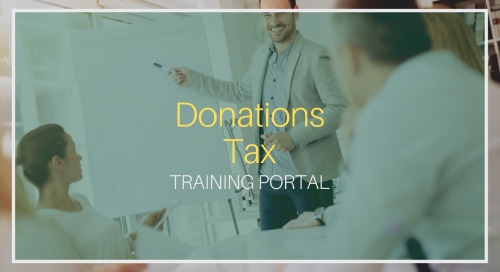 Donations Tax [Training]