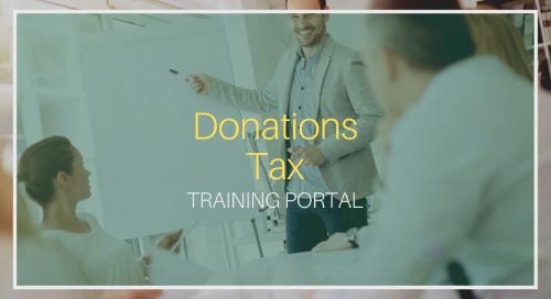 Donations Tax [Training]