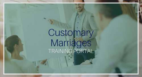 Customary Marriages [Training]