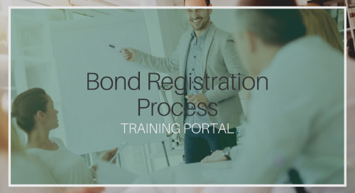 Bond Registration Process [Training]