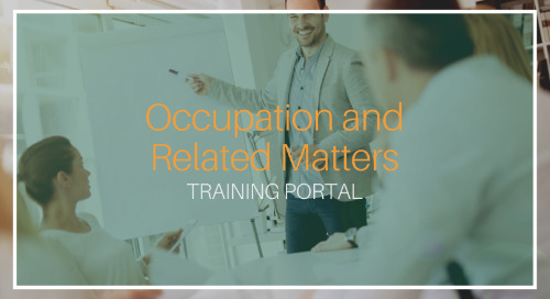 Occupation and Related Matters [Training]