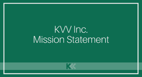 KVV Inc. [Mission Statement]