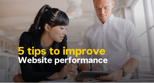 Infographic: 5 Tips to Improve Website Performance