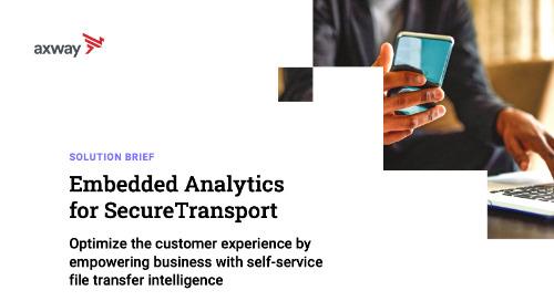 Embedded Analytics for SecureTransport