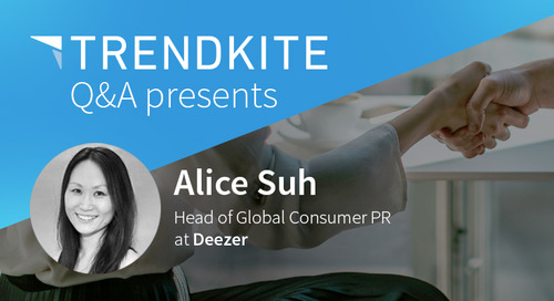 Get to Know: Alice Suh, Head of Global Consumer PR at Deezer