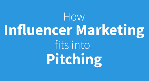 How influencer marketing fits into pitching