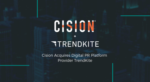 TrendKite Joins Forces with Cision