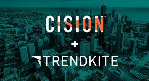 A TrendKite + Cision update