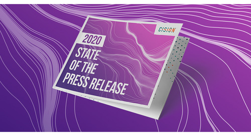 Cision's 2020 State of the Press Release