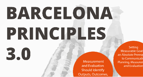AMEC Summit reveals new and improved Barcelona Principles 3.0