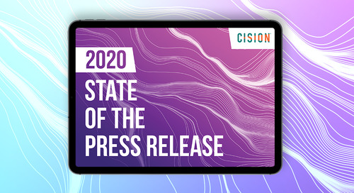 10 Takeaways from Cision's State of the Press Release