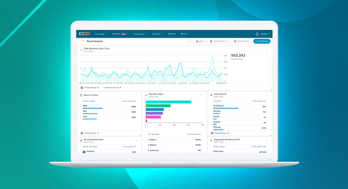 Introducing Cision's New Analytics Dashboards and Interactive Reports
