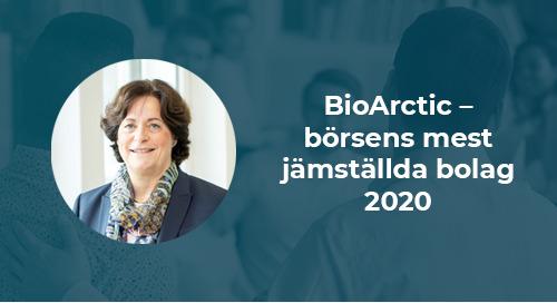 BioArctic – börsens mest jämställda bolag 2020