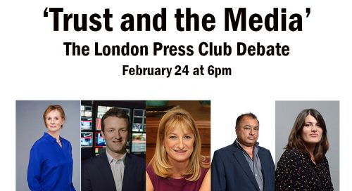 Event: The London Press Club Debate