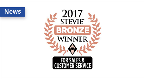 SmartLinx Solutions Wins Bronze Stevie® Award in 11th Annual Stevie Awards for Sales and Customer Service
