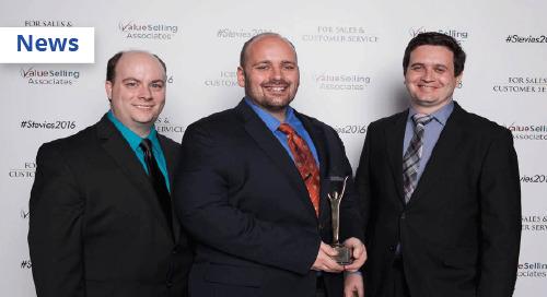 SmartLinx Solutions Wins 2016 GOLD STEVIE® Award