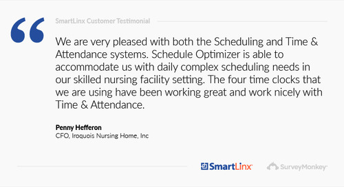 """""""Schedule Optimizer is able to accommodate us with daily complex scheduling needs"""""""