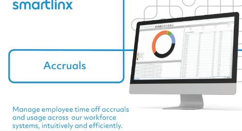 SmartLinx Accruals