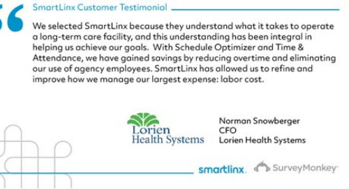 """We have gained savings by reducing overtime and eliminating labor costs"""