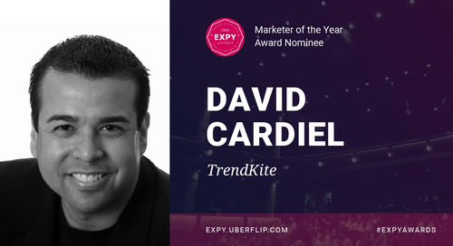 David Cardiel, Marketer of the Year